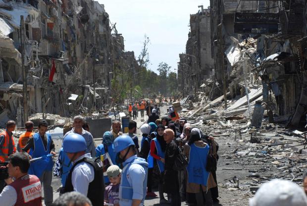 AP Photo/UNRWA, File