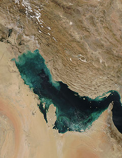 Persian Gulf - Persian Gulf from space