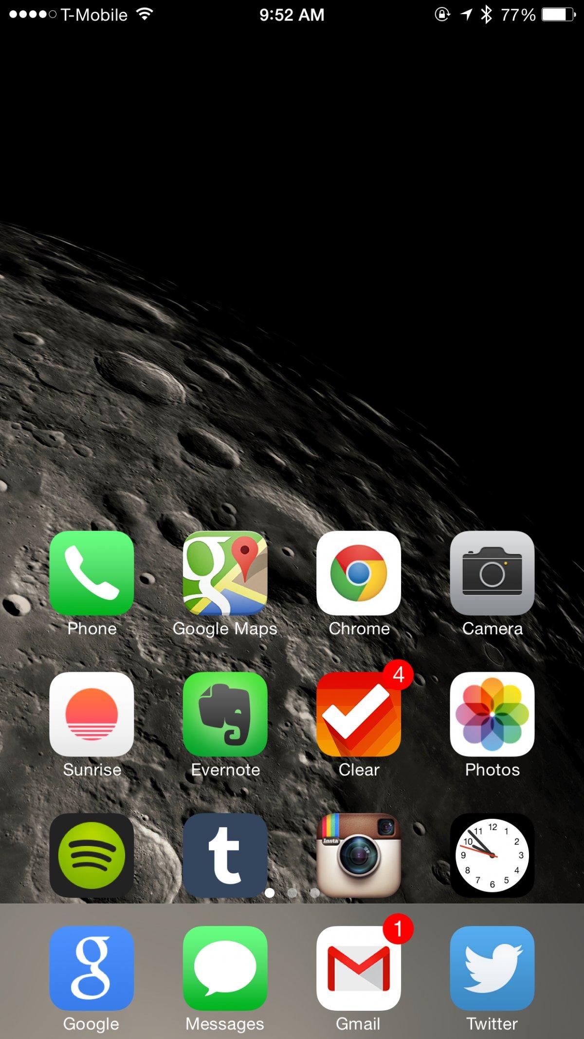 Как сделать с экрана айфона 6 плюс