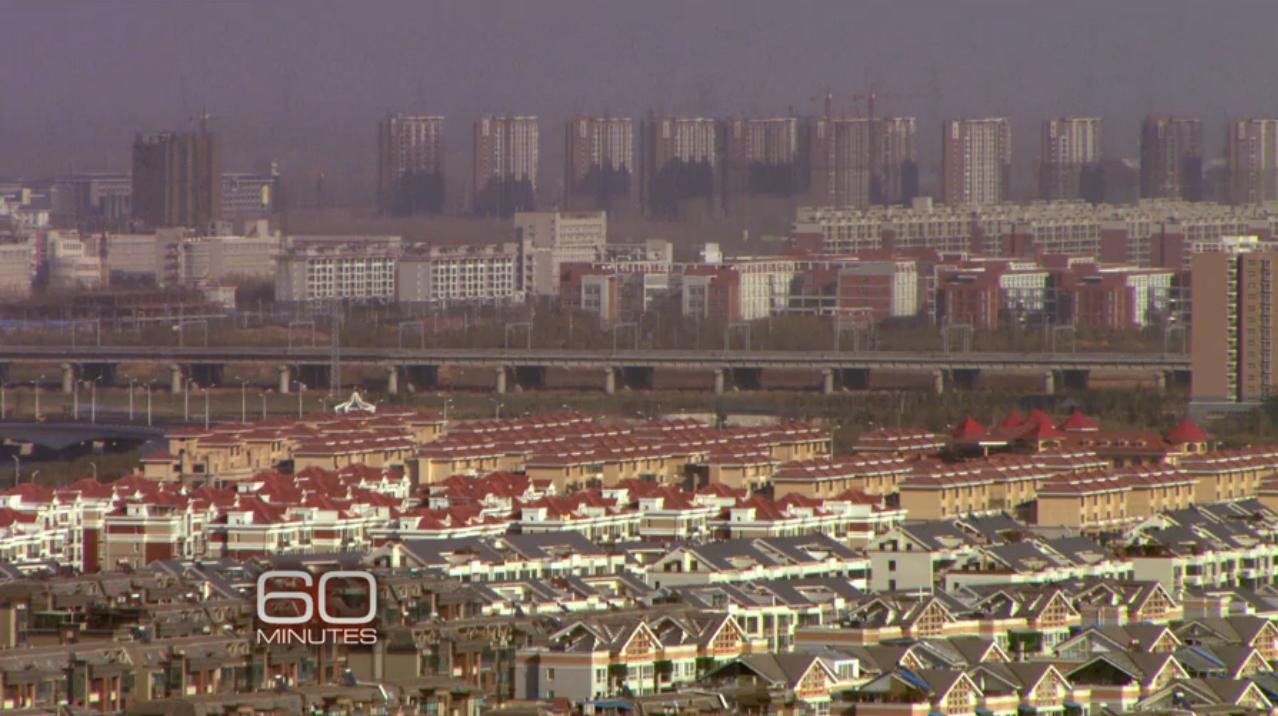 Zhenhzhou China ghost cities