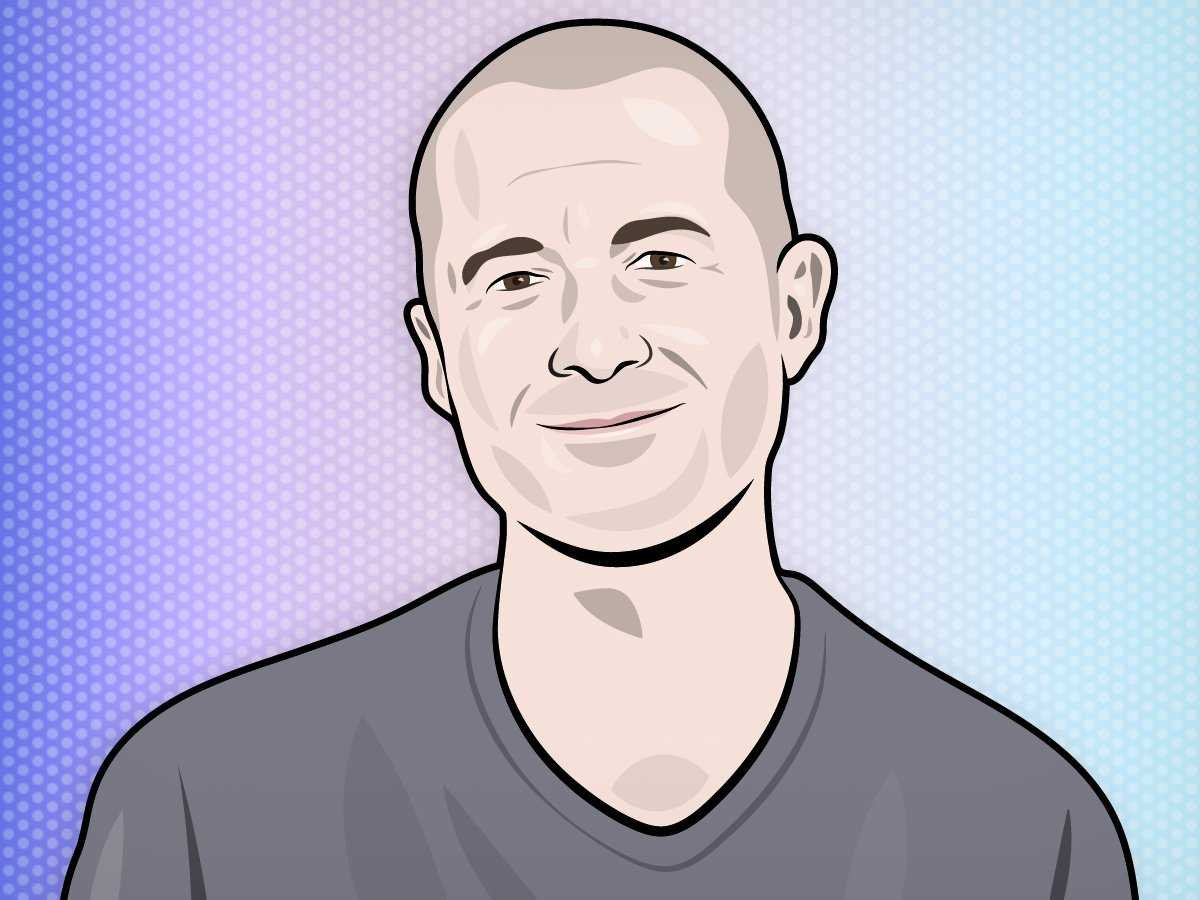 Jony Ive Apple Portrait Illustration