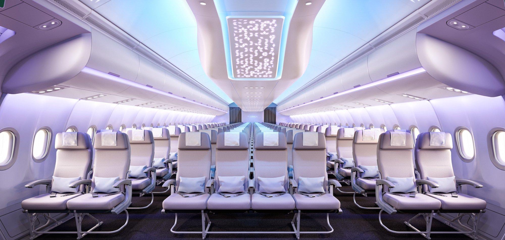 Airbus A330 neo interior