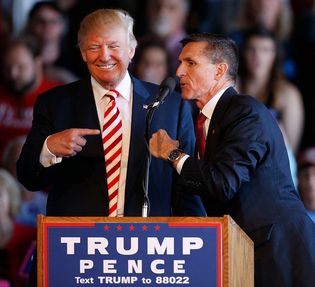 Donald Trump Mike Flynn