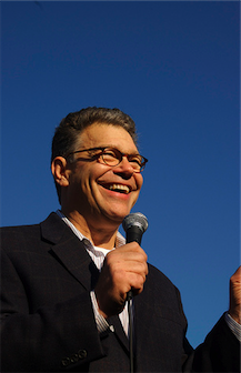 Al Franken campaign photo