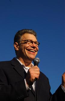 Al Franken campaign photo