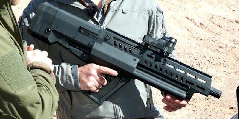 Israel Tavor TS12 semi-auto shotgun