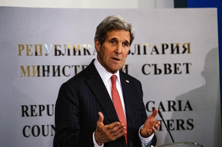 John Kerry's visit to Paris comes after the White House admitted it made a mistake in not sending a higher-ranking representative to the mammoth march against terrorism attended by dozens of world leaders on Sunday