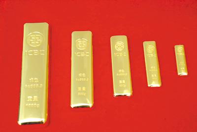 ICBC gold bars