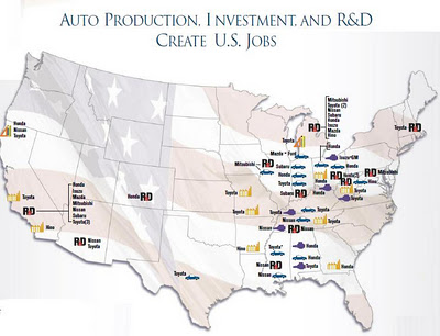 Nissan Manufacturing Plant Location Map Packard
