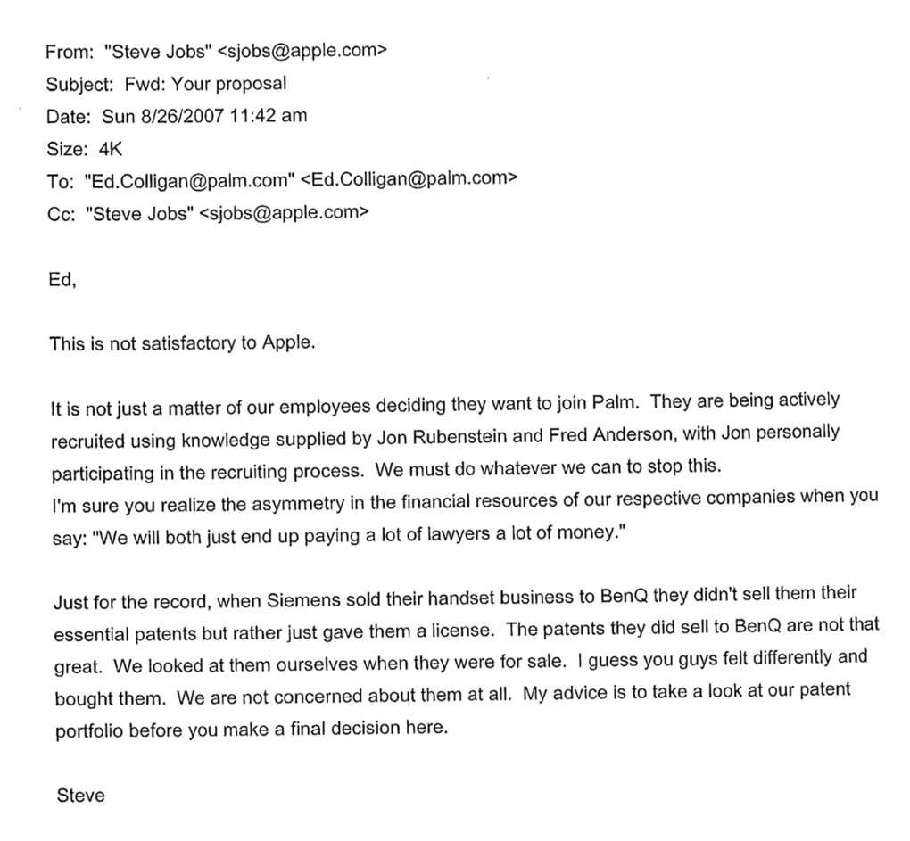 These Intimidating Emails From Steve Jobs Put Apple At The Center ...