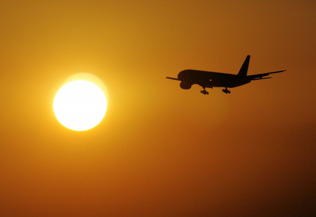 airlinessunset