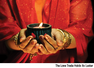Love Trade Holds Its Luster