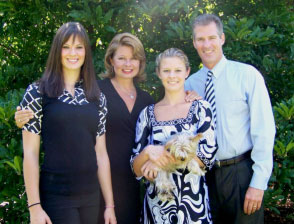 Senator Scott Brown and Family
