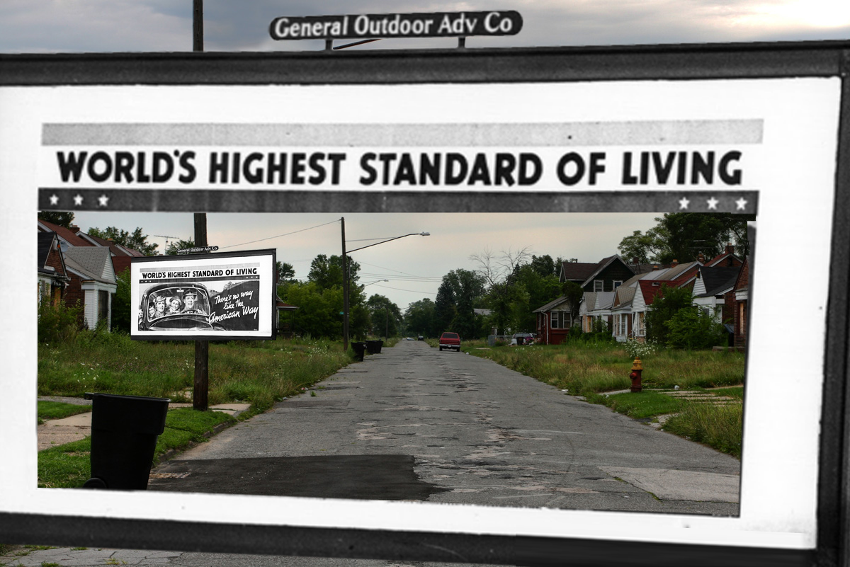 World's highest standard of living