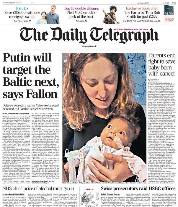 an introduction to the analysis of the daily telegraph and the sun The guardian's editorial stance is considered less conservative than that of the daily telegraph and the times.