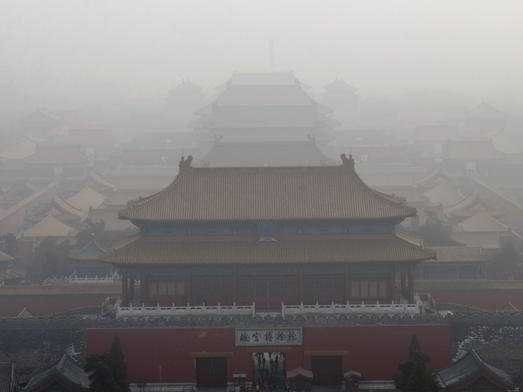china beijing smog pollution