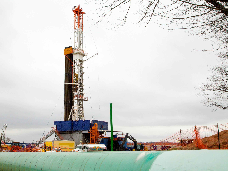 Fracking, Cabot Oil, PA