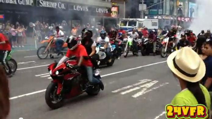Bikers In Nyc Video the August video