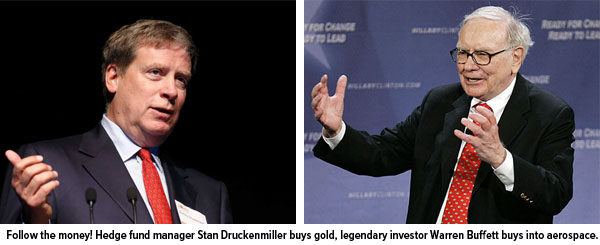 Stan-Druckenmiller-Buys-Gold-Warren-Buffett-Buys-Aerospace
