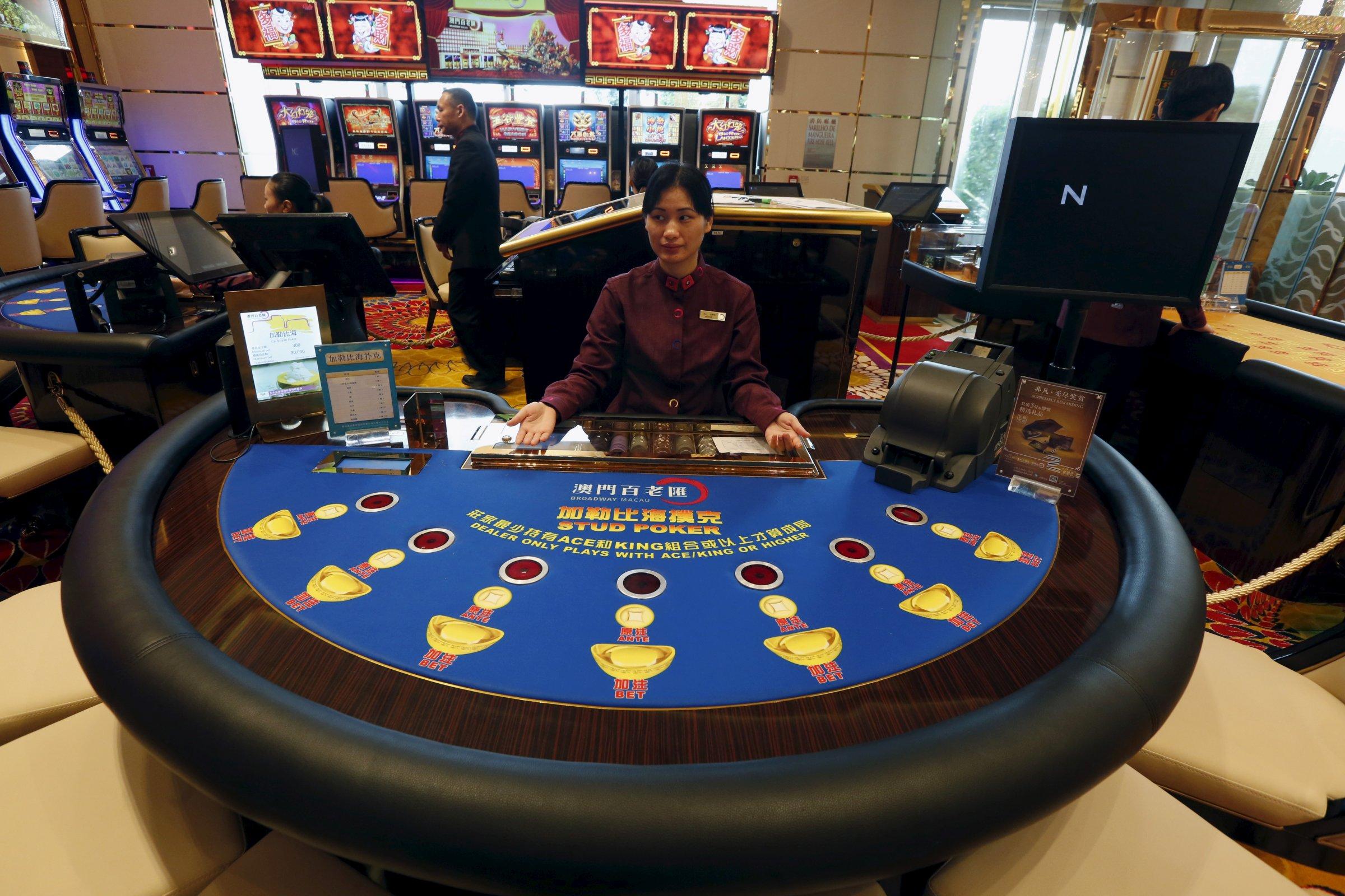China gambling macau manitoba gambling website