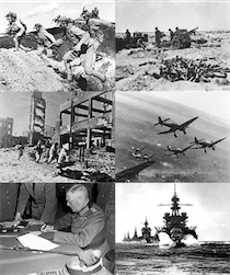 Infobox collage for WWII 1