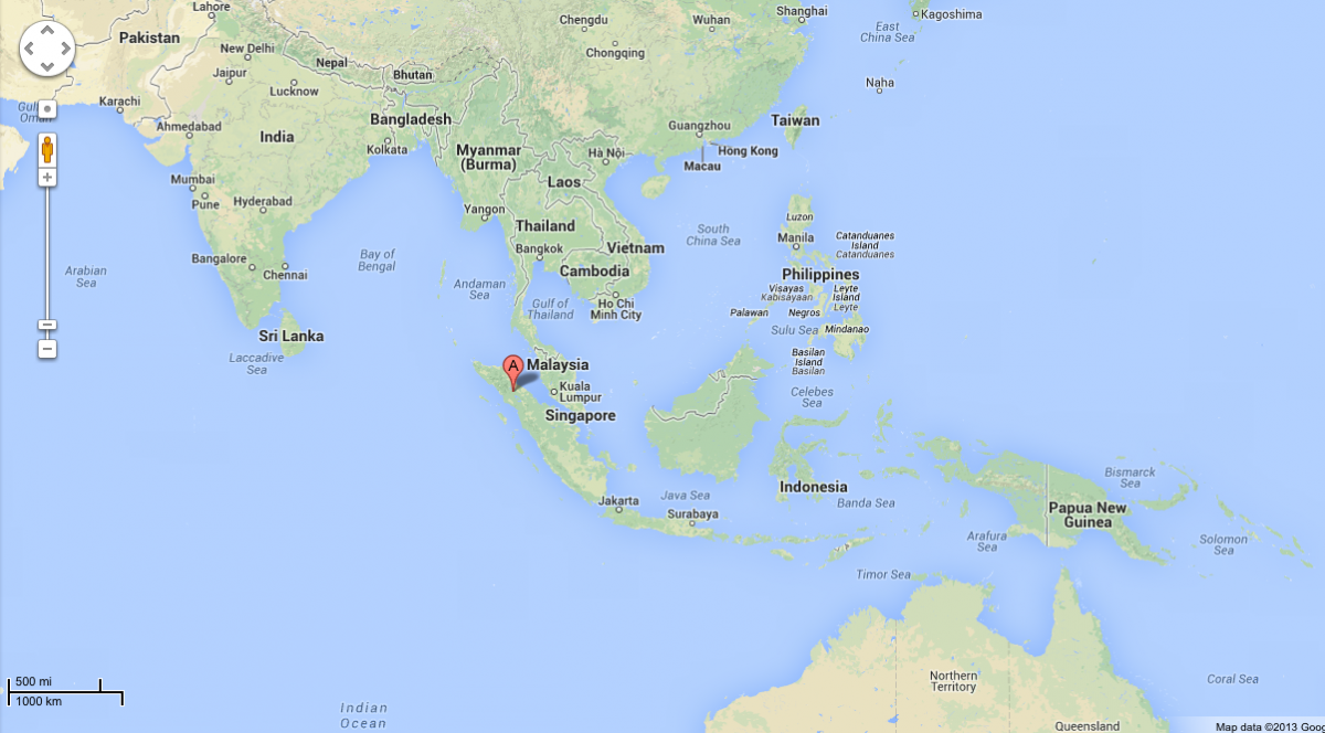 mount sinabung indonesia map
