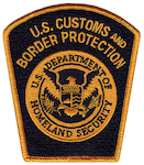 USA - Customs and Border Protection - Border Patrol Patch 1