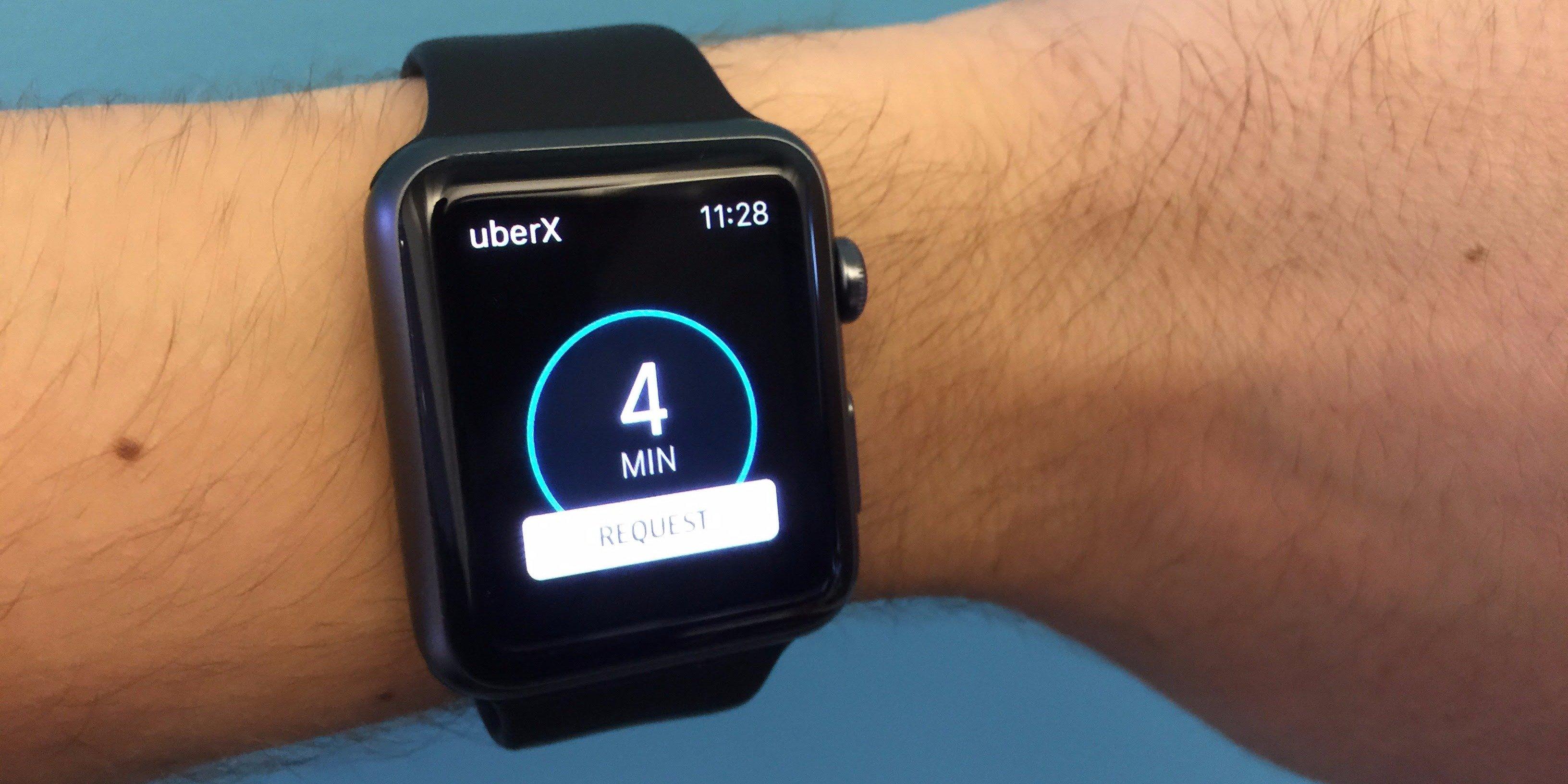 uber apple watch app