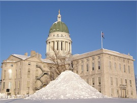 State Capitol, Augusta, ME (cc photo by jimbowen0306)