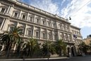 The Bank of Italy headquarters is seen in Rome, Tuesday, Sept. 20, 2011 the day after Standard &amp; Poor&#039;s Ratings Services has downgraded Italy&#039;s credit rating by one notch, saying it sees weakening economic growth prospects for the European nation and higher-than-expected levels of government debt. Late Monday Sept. 19, 2011, in New York, the ratings firm cut Italy&#039;s long- and short-term sovereign credit ratings, but leaving it still five steps above junk status. (AP Photo/Andrew Medichini)