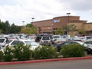 Wal-Mart in West Hills, CA (wikimedia)