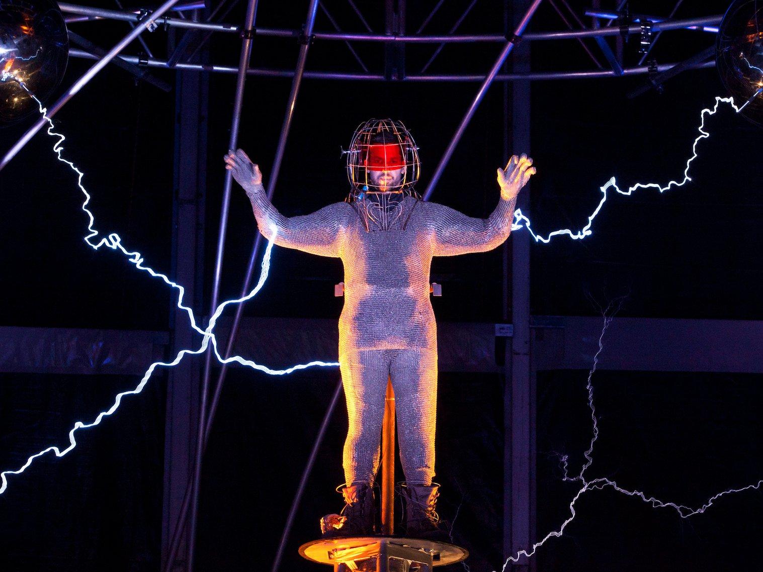 shock electricity David Blaine