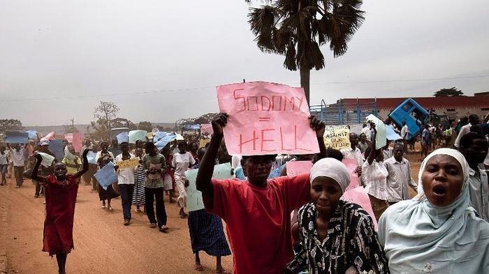 Uganda anti gay