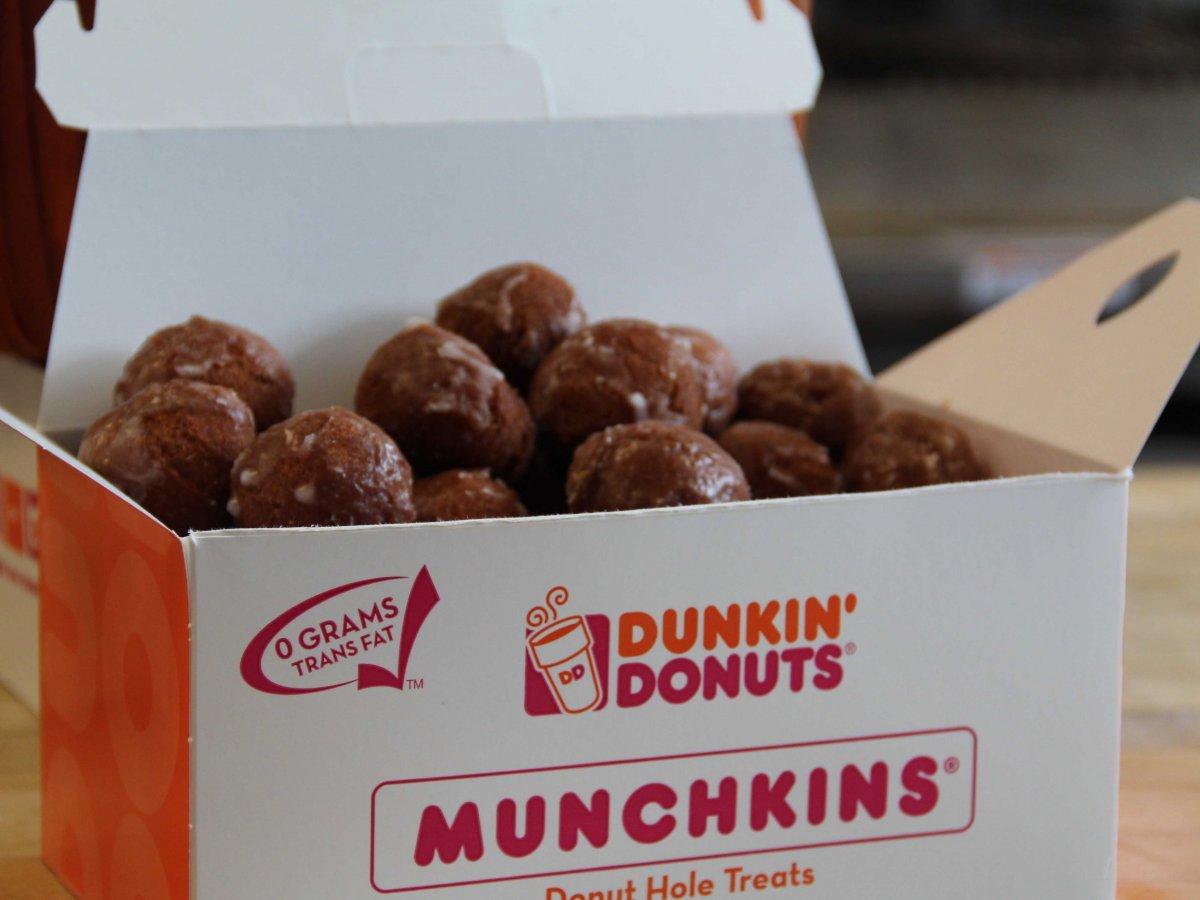 Pumpkin Dunkin' Munchkins Lifestyle
