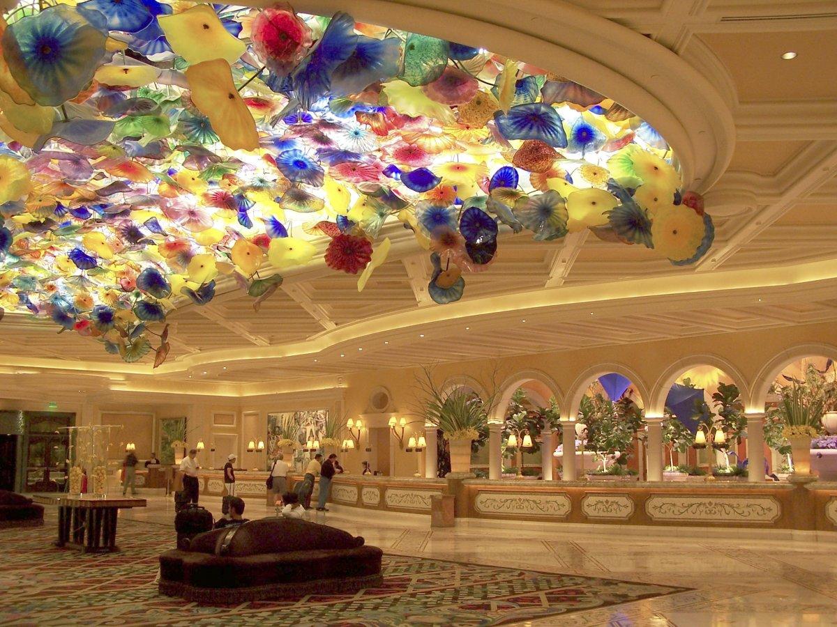 Ceiling art in bellagio hotel casino mansion casino ipoints