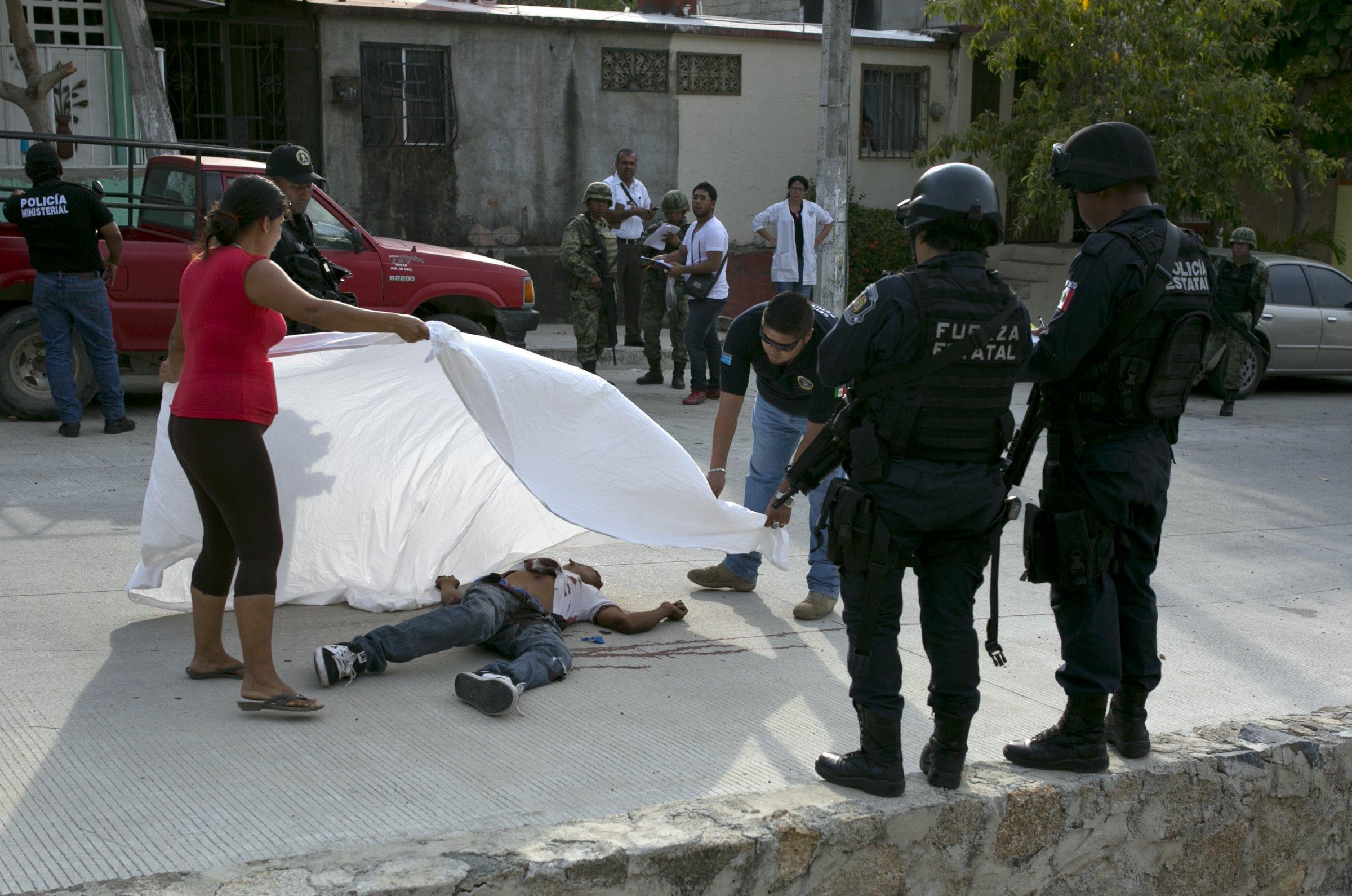 Guerrero homicide death violence killing Mexico Acapulco