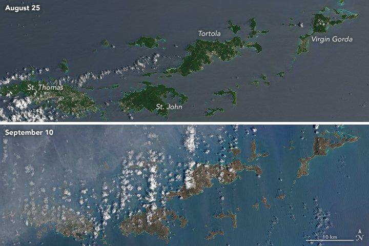 virgin islands irma satellite damage