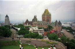 Chateau Frontenac, Québec City (cc photo by Joe Shlabotnik)