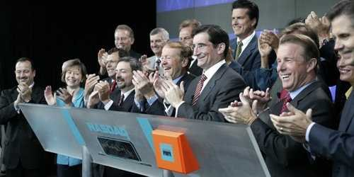 Cisco NASDAQ opening bell