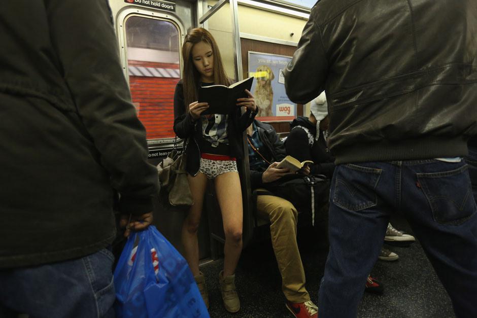 No Pants Subway Ride, ou comment se balader sans pantalon