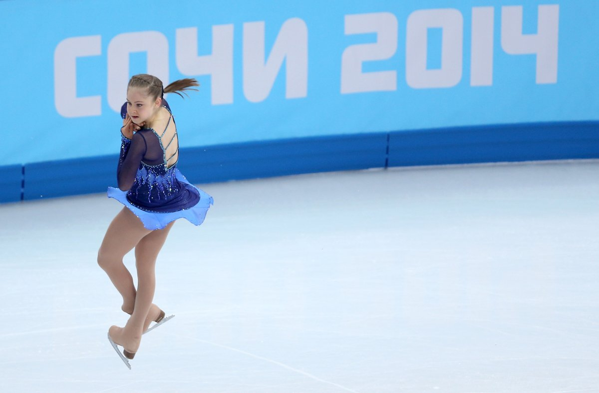Yulia Lipnitskaya Gold Medal SEE ALSO The Gold Medal