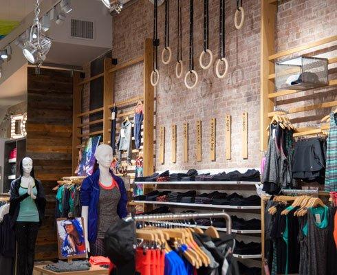 Girls clothing stores. Soho clothing store