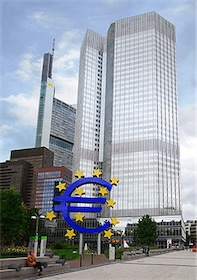 The current headquarters building in Frankfurt, Germany 1