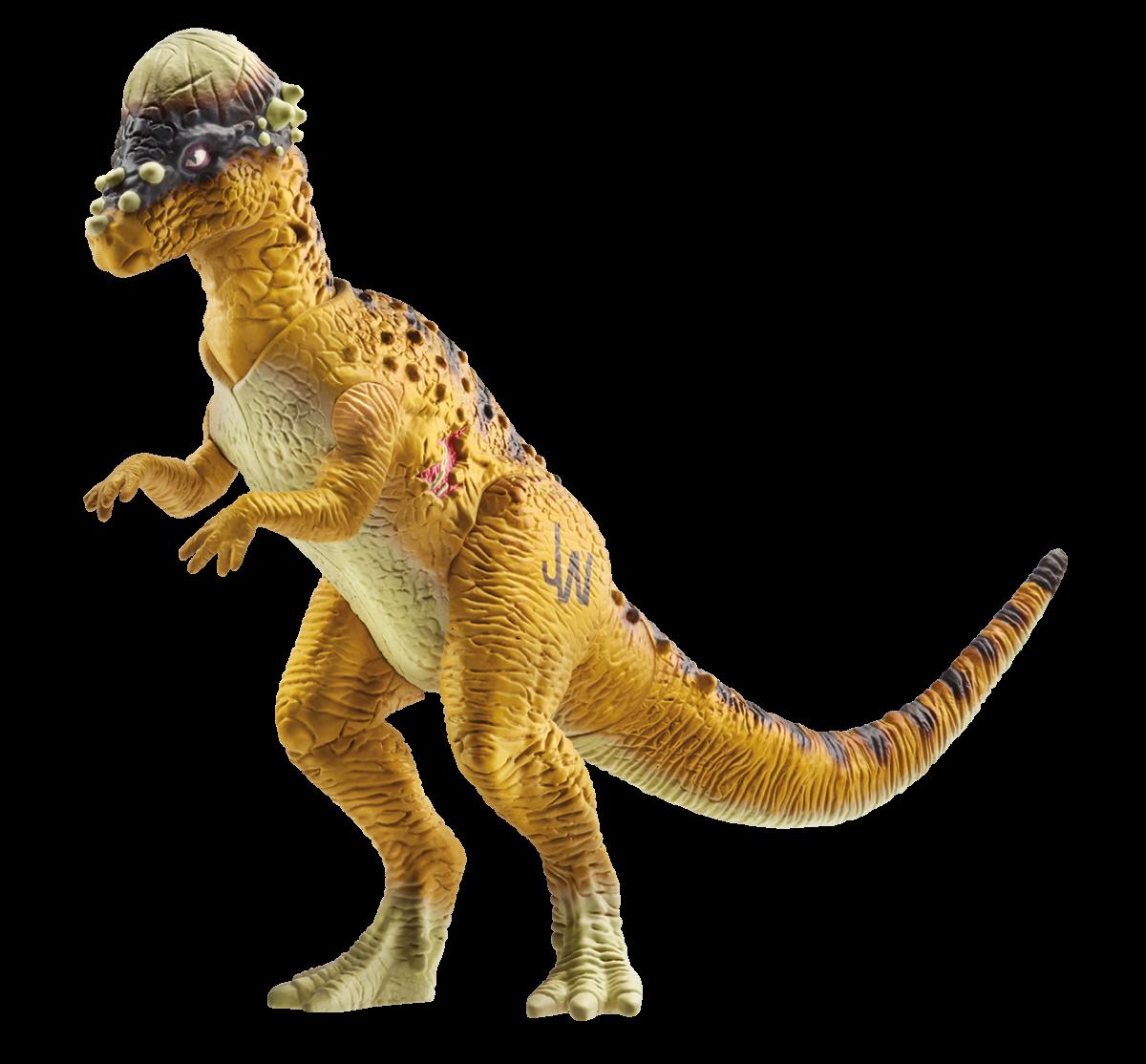 Heres What The Dinosaurs In Jurassic World Will Look Like Www Mainan Figure Dinosaurus Dino Pachycephalosaurus Basic
