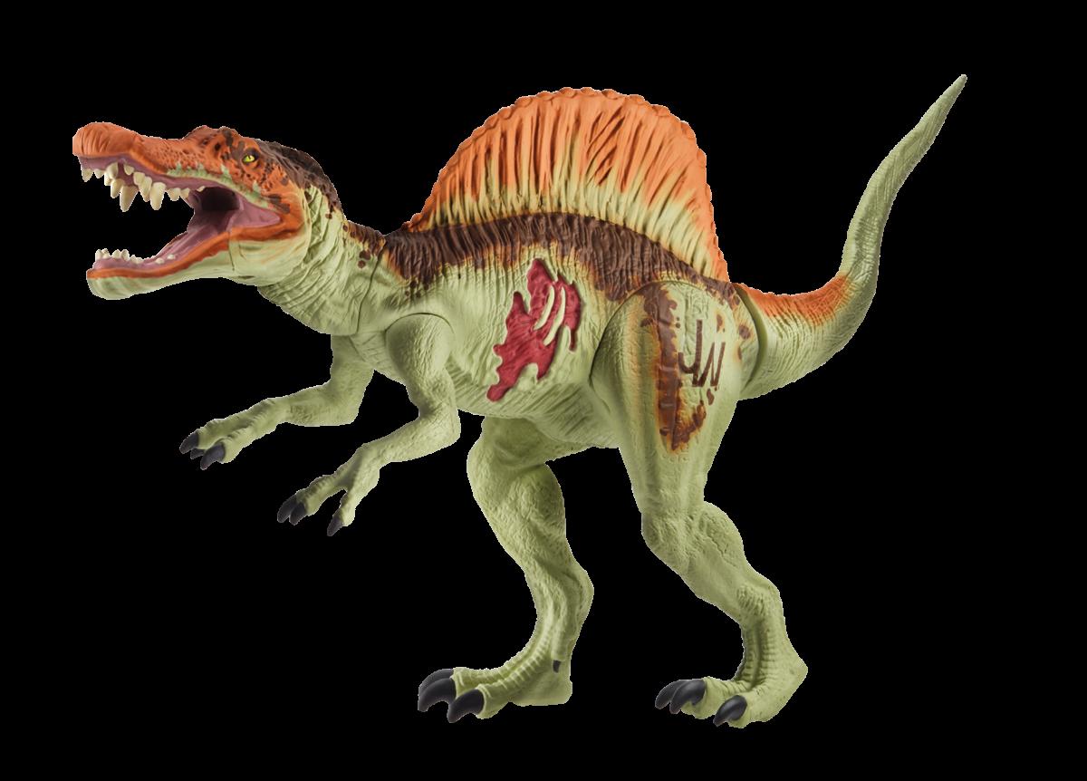 Heres What The Dinosaurs In Jurassic World Will Look Like Www Mainan Figure Dinosaurus Dino Spinosaurus Basic