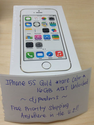 ebay iphone 5s gold iphones are going for 1 800 on ebay www bullfax 1813