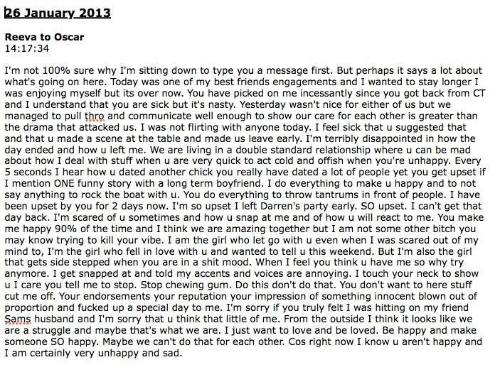 26 2013 reeva steenkamp text