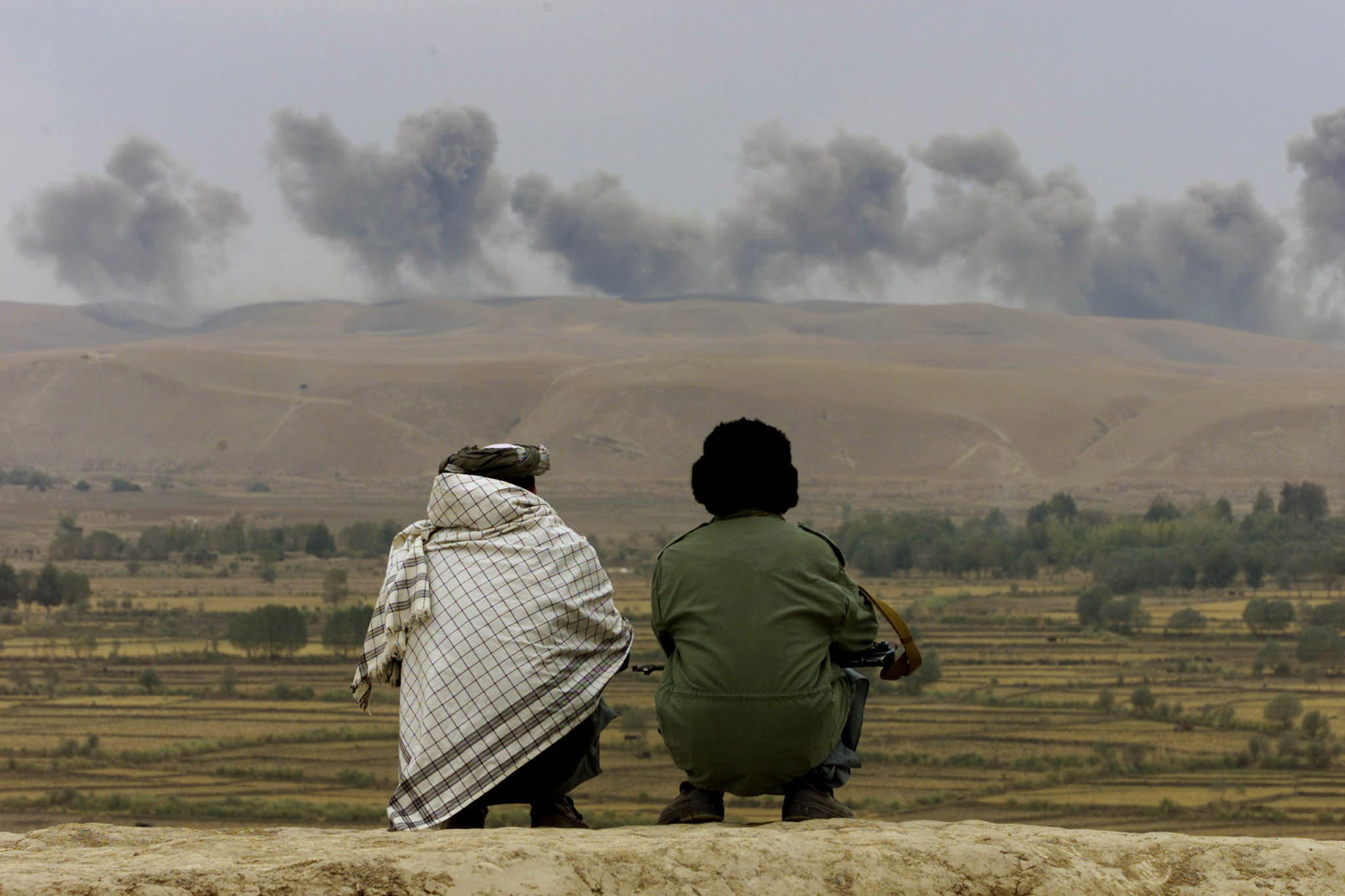 US bombing in war in Afghanistan